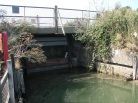 Dunwich River Sluice Walberswick. Site of the new eel passage damper - a proze winning design. Supported by Defra, The Rivers Trust, Living North Seas, Environment Agency and FishTec/Royal Haskoning.