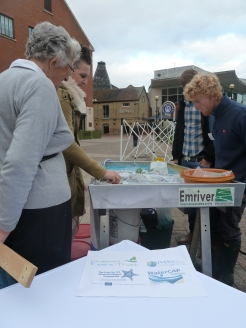 WaterCap Rivers Trust funded our stream table