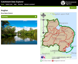EA Catchment Data Explorer