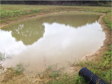 flood attenuation pond - Water friendly farming report